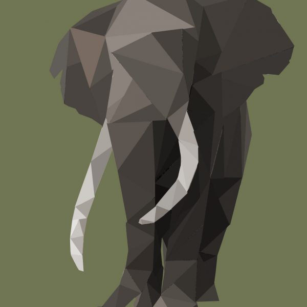 Polygon Art Collection Panda